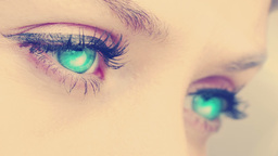 Glowing eyes blinking Animation