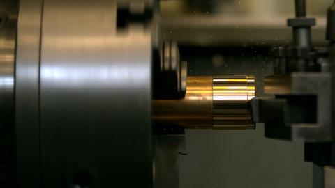 Engineering machine in metal workshop Footage