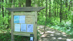 Conservation trail information (3 of 4) Footage
