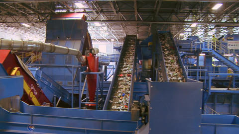 Recycling factory (2 of 2) Footage