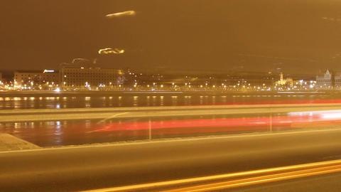 European City Timelapse 87 zoom Stock Video Footage
