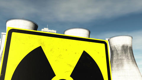 Nuclear Factory and Towers 05 Animation