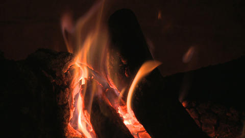 fire fast motion Stock Video Footage