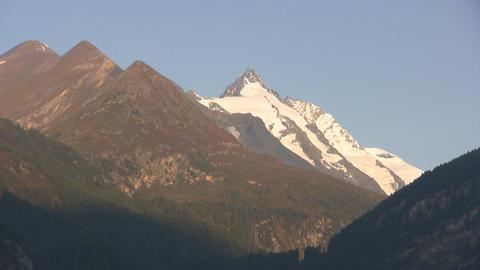 Alpine Mountains Stock Video Footage