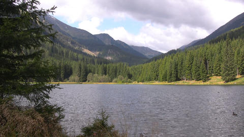 Alpine lake Stock Video Footage