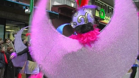 Carnival in Spain Stock Video Footage