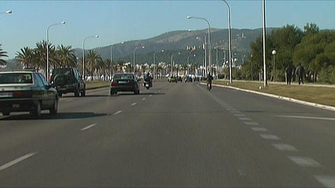 Palma de Mallorca - Traffic Stock Video Footage