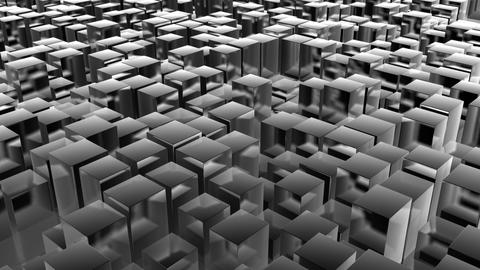 cube pan metal Stock Video Footage