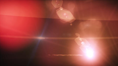 Light Flares in Motion Stock Video Footage