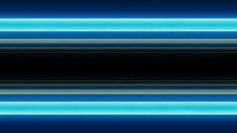 Neon Light Border A HD Stock Video Footage