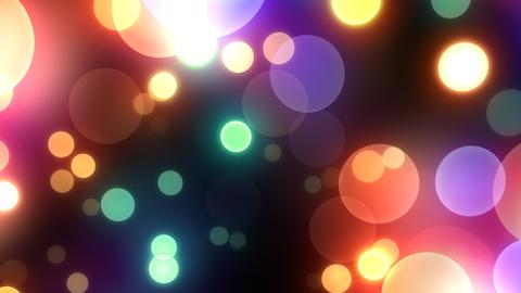 Neon Light in Dot Et HD Stock Video Footage