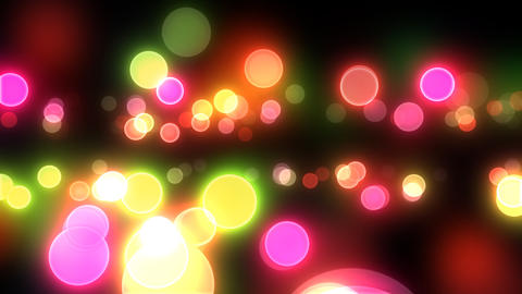 Neon Light Pan Dot A HD Stock Video Footage