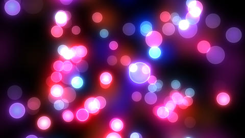 Neon Light Pan Dot D HD Stock Video Footage