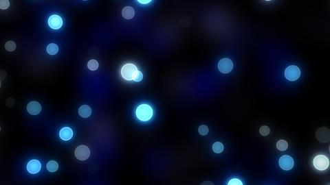 Neon Light Wave Dot A HD Stock Video Footage