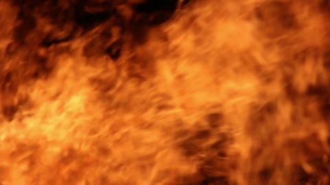Fire Detail Clip 03 Part 2 Stock Video Footage