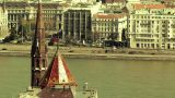 European City View 05 stylized Footage