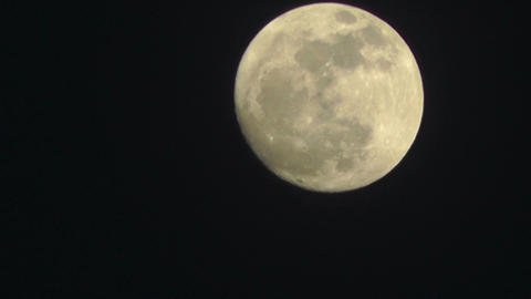 Full Moon Timelapse 04 Footage