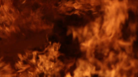 Fire Detail Clip 04 Stock Video Footage