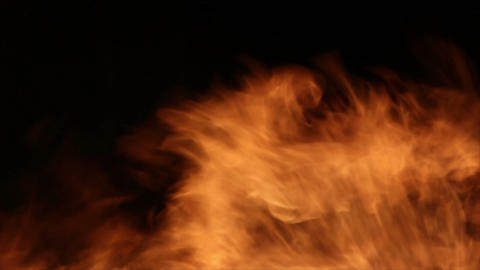 Fire Detail Clip 12 Stock Video Footage
