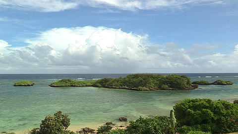 Summer landscape in Iriomote island,Okinawa,Japan_3 Stock Video Footage