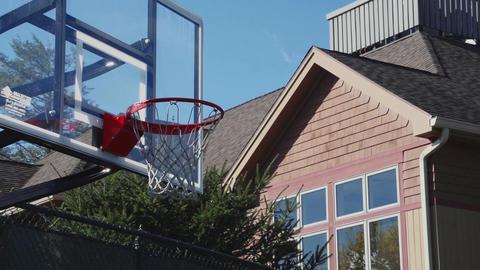 Outdoor basketball hoop (1 of 3) Footage