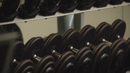 Inside A Gym Facility (4 Of 4) stock footage