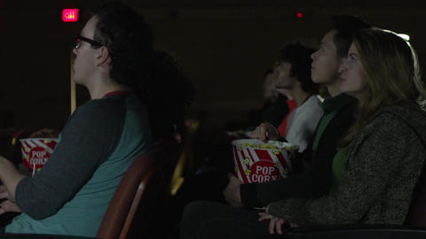 Staring at the movie screen (3 of 5) Footage