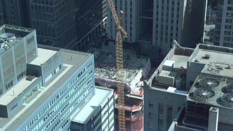 NYC Construction (1 Of 2) stock footage
