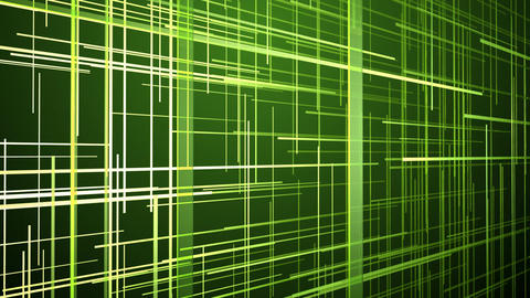 green grid data Animation