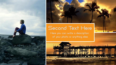 Clean Photo Video Slideshow After Effects Template