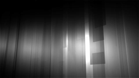 white slide shape Animation