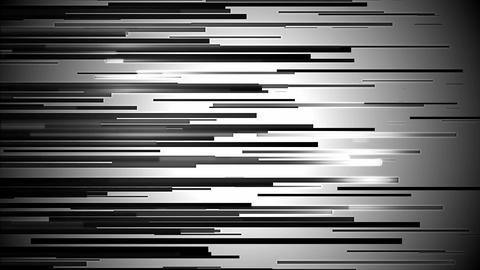 black line glowing Animation