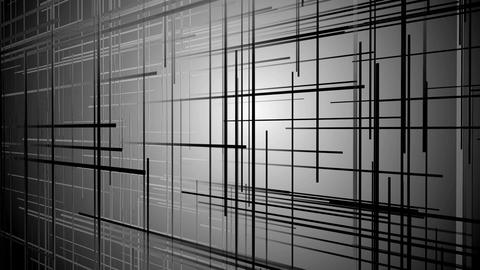 white grid space Animation