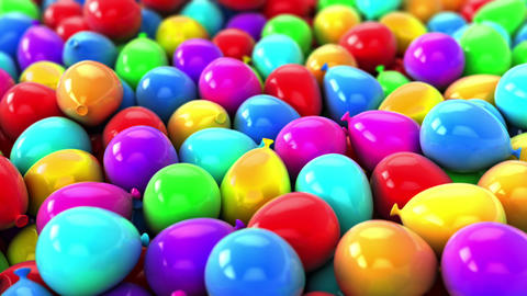 Colorful Balloons,Party Video transition Background Animation