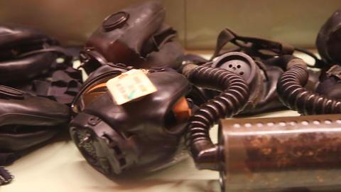 vietnam war gas masks Footage