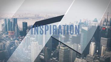Inspiration Slideshow stock footage