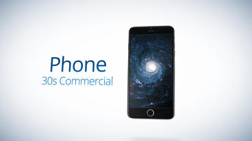 Phone 30s Commercial - Apple Motion and Final Cut Pro X Template Apple Motion Project