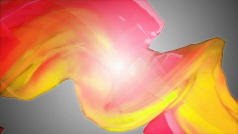 yellow color warp Animation