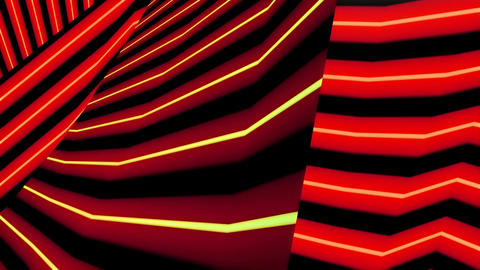 red lines background Animation