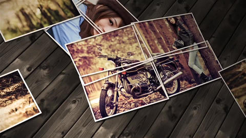 Photo Collage Slideshow After Effects Template