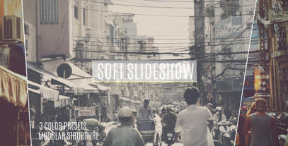 Soft Lines Slideshow After Effects Template