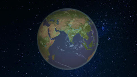 Earth Center Rotation Png stock footage