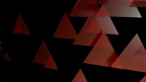 red triangle animation Animation