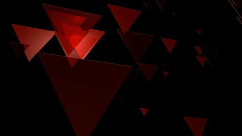 red trigonal array Animation