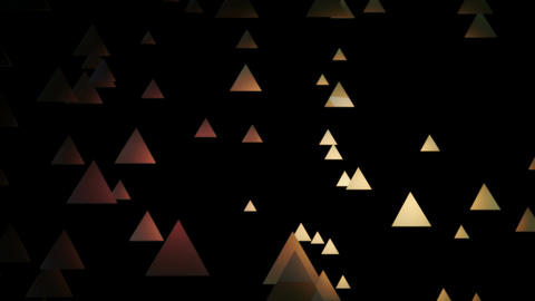 golden triangle space Animation