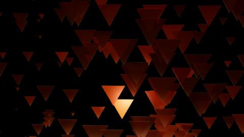 reddish triangle dance Animation