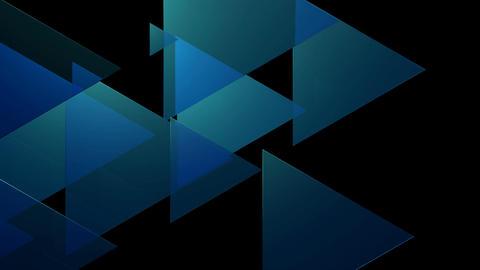 soft blue trigonal Animation