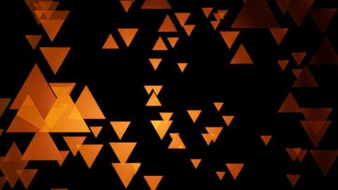 orange trigonal movement Animation