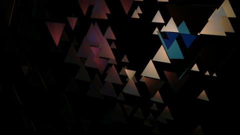 glowing triangle movement Animation