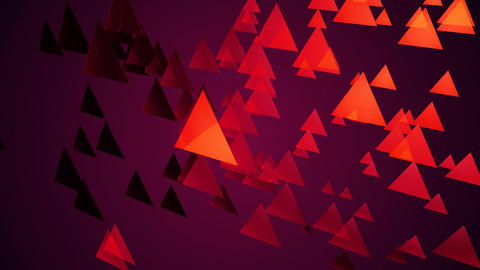 purple triangle space Animation
